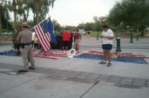 Vegas Defense Attorney Defines Offense of Desecrating Flags