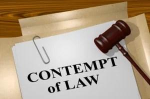 Vegas Defense Attorney Explains Criminal Contempt
