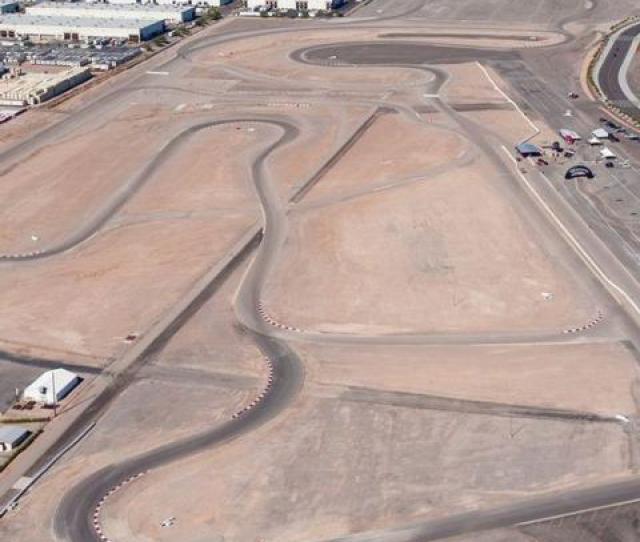 Outside Road Course Tracks Las Vegas Motor Speedway