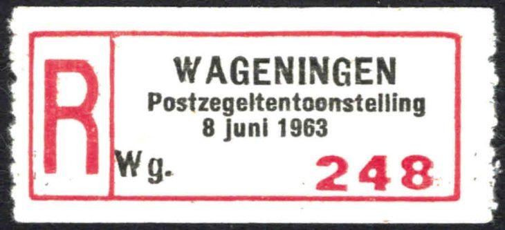 Wageningen postzegeltentoonstelling