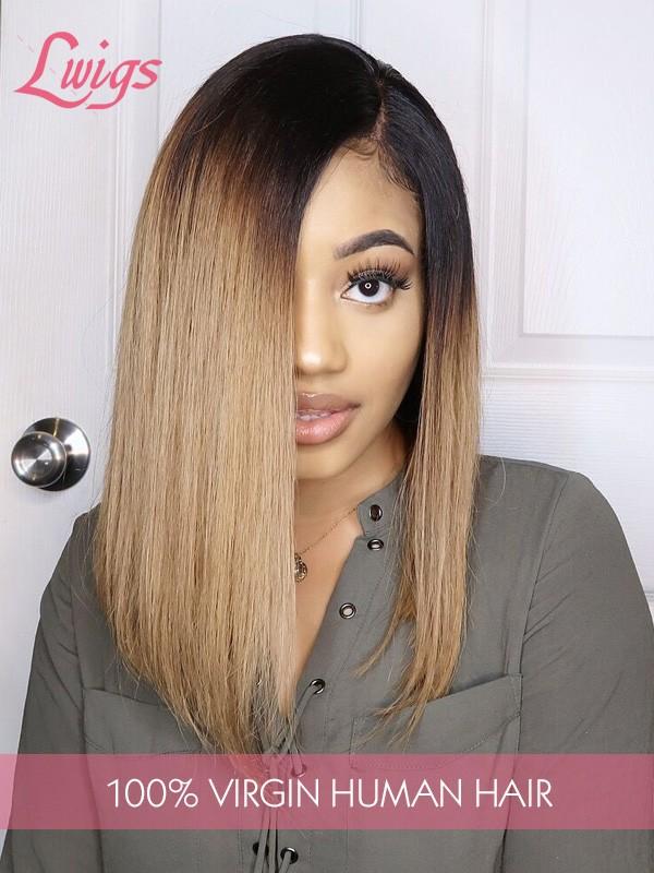 Ombre Color 1b30 Brazilian Virgin Hair 8A Grade Bob