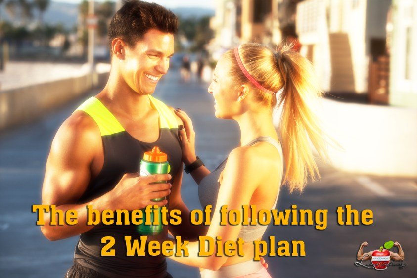 the benefits of following the 2 week diet plan
