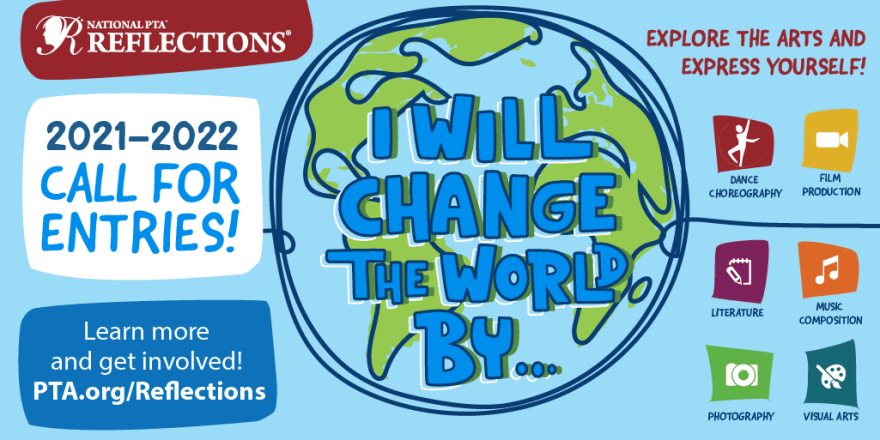 Reflections 2021-2022 Theme I Will Change the World By