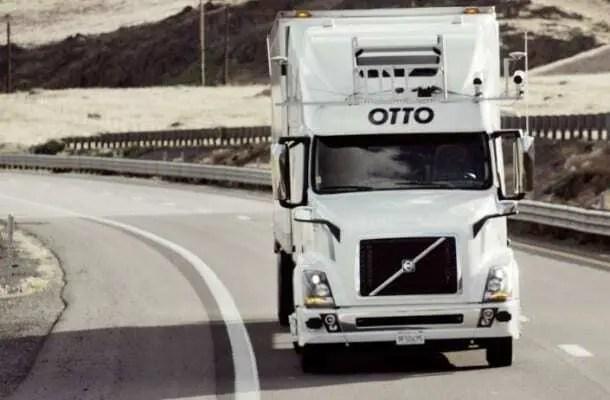Projeto OTTO - Caminhões que fazem entrega sem motorista 1