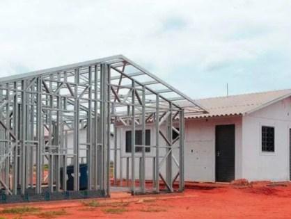 A construção de casas de aço será possível graças a inovação industrial
