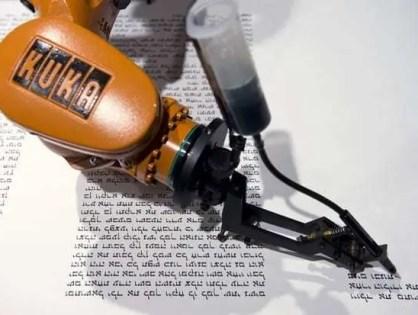 A revolução da indústria com a precisão de movimentos robóticos