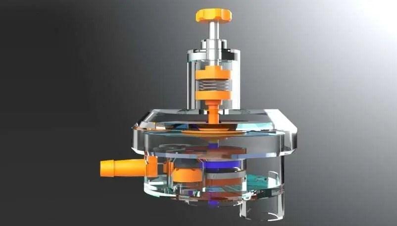Respirador impresso