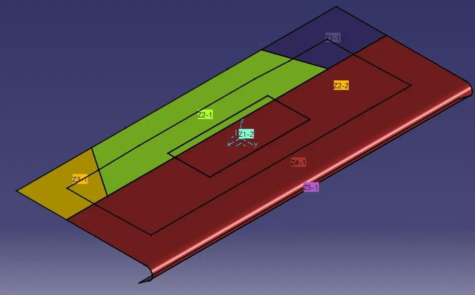 Dica CATIA - Composite Design - Criando Zones - Continuação
