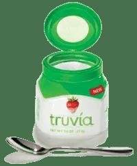 Embalagem de produto impresso em 3D. Embalagem com cores verde, branca e detalhe vermelho no logo.