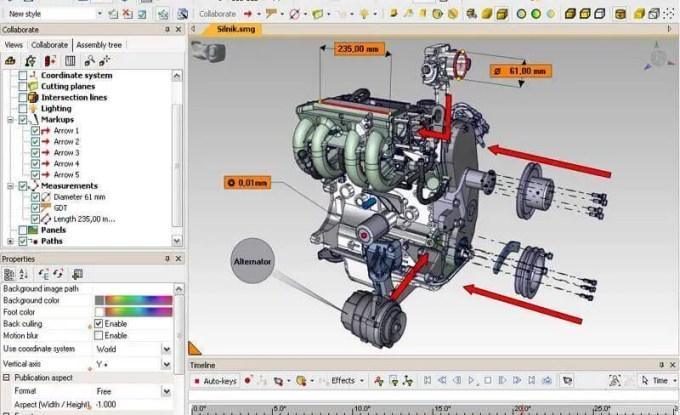 Programa de Ilustração 3D com Motor de carro desenhado. Confira o que a LWT separou para você!