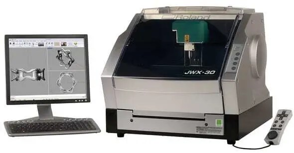 Modelo de impressora 3D imprimindo Projeto de Joia. Continue lendo nosso post!!