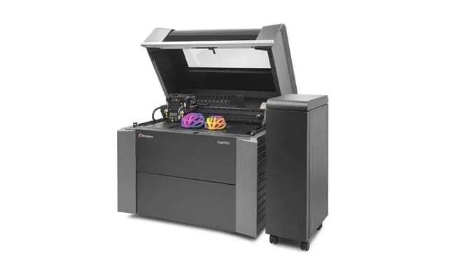 Impressoras 3D Stratasys Objet350 e Objet500 Connex3