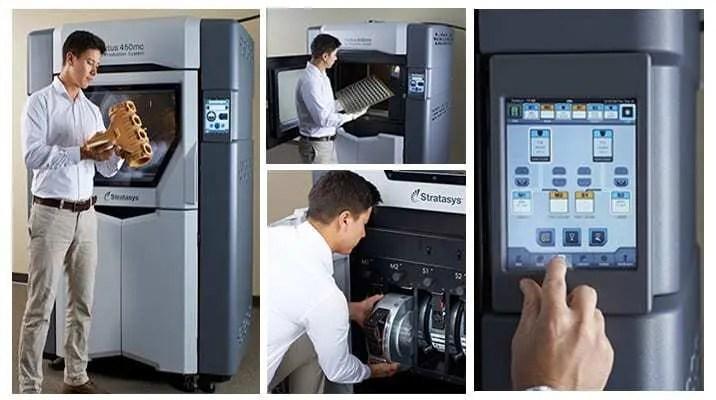 Impressoras 3D Stratasys Fortus 380mc e Fortus 450mc | FDM