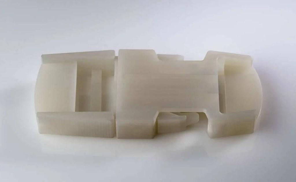 Material de impressão Polipropileno simulado Polyjet Stratasys