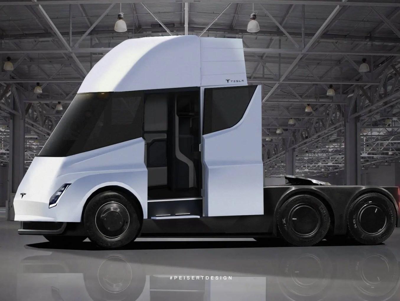 Conheça o SEMI: Caminhão Elétrico da Tesla