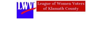 LWV Klamath County small logo