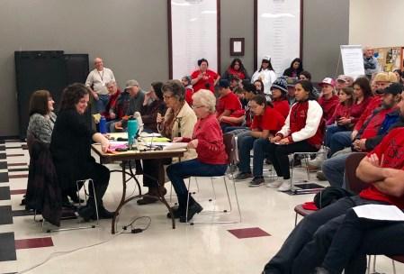 LWV Klamath County activism public testimony