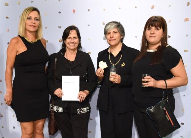 María José Fontecilla, Susy Inés Bello Knoll, Pamela Echeverría y Lucia Spagnolo.