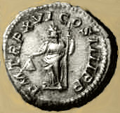 Roman liberty coin, 3rd century AD