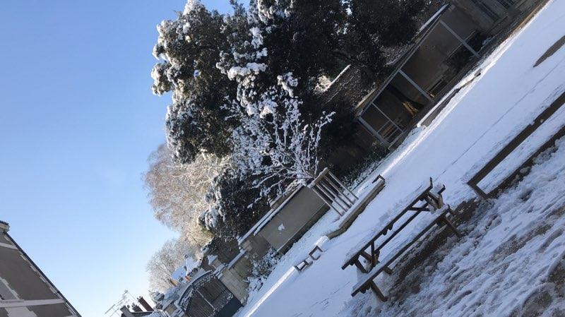 Episode neigeux, élèves heureux, mais Lycée ouvert !