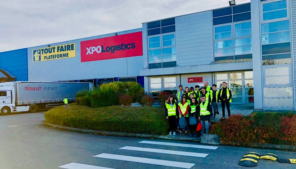 09-11-2018 : Visite chez XPO Logistics pour la 3 PREPA PRO