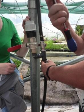 Installation d'irrigation