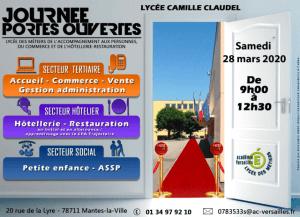 Read more about the article Journées portes ouvertes