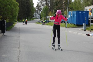 Sanna Sundström stakar på!!