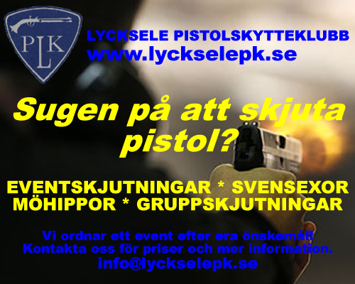 pistolskytte event lycksele