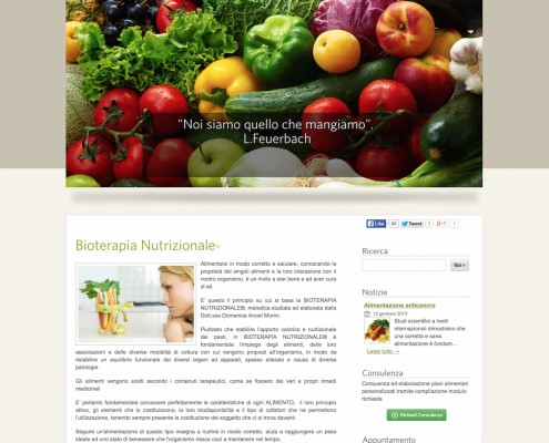 Nutrizionista Online - Website - by Lycnos