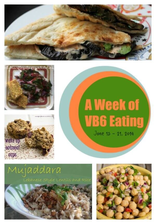 A Week of Vegan Before 6 Eating ~ Lydia's Flexitarian Kitchen