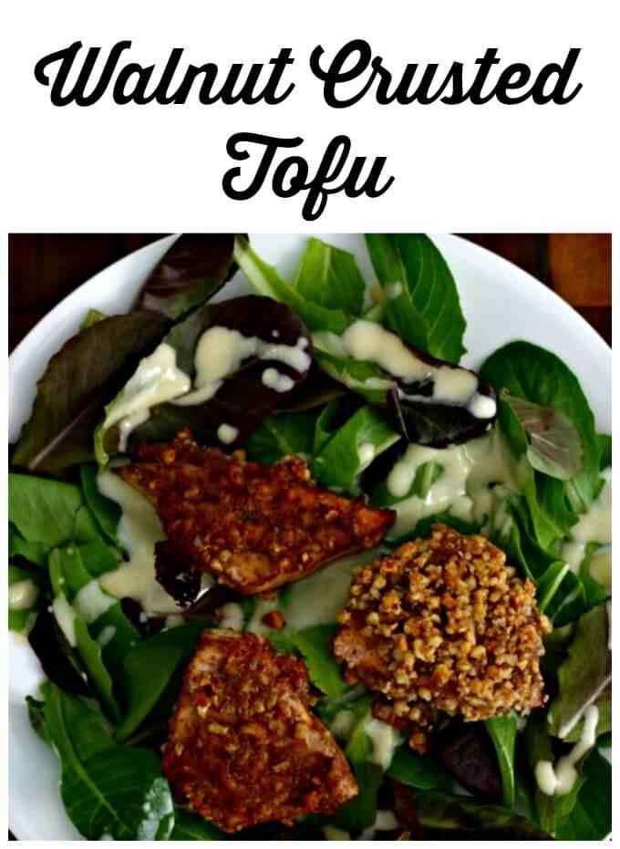 Walnut Crusted Tofu ~ Lydia's Flexitarian Kitchen