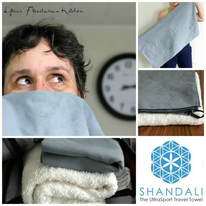 Shandali Travel Towel #Review ~ Lydia's Flexitarian Kitchen