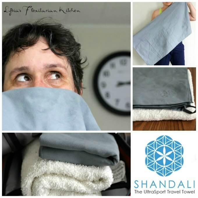 Shandali Travel Towel #Review ~ Lydia's Flexitarian Kitchen