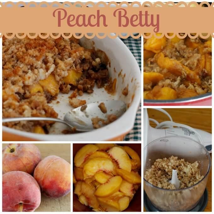Peach Betty ~ Lydia's Flexitarian Kitchen