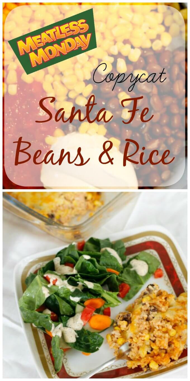Copycat Santa Fe Beans & Rice ~ Lydia's Flexitarian Kitchen