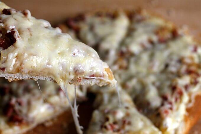 """Flammekeuche: Belgian Style """"Pizza"""""""