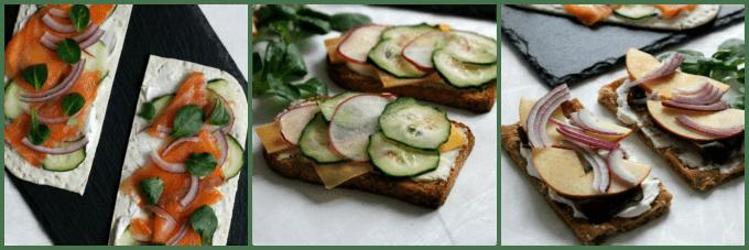 Smoky Open Faced Sandwiches {Recipe Redux}