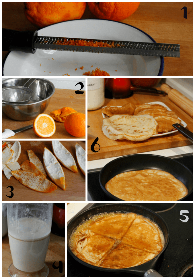 Crepes Suzette ~ Lydia's Flexitarian Kitchen