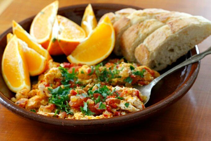 Menemen: Turkish Eggs