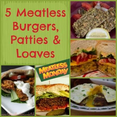 Five Meatless Burgers