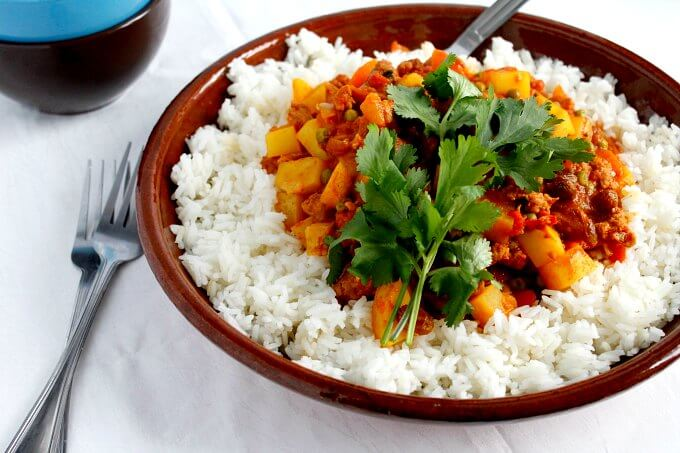 Keema ~ A Curry You Should Know and Love ~ Lydia's Flexitarian Kitchen