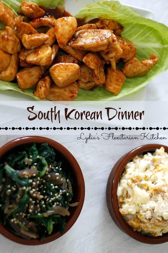 Simple South Korean Recipes ~ Lydia's Flexitarian Kitchen