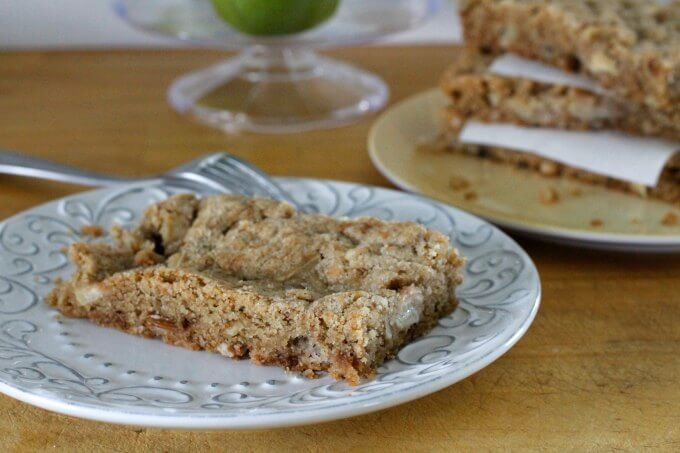 Apple Snack Cake ~ Lydia's Flexitarian Kitchen