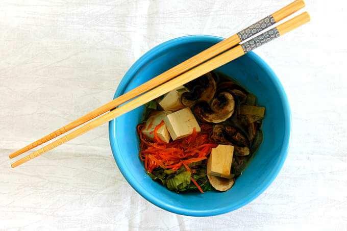Veggie Sukiyaki ~ #FoodOfTheWorld ~ Lydia's Flexitarian Kitchen