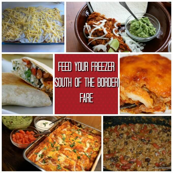 How to Feed Your Freezer ~ 15 Make Ahead Ideas ~ Lydia's Flexitarian Kitchen & Friends