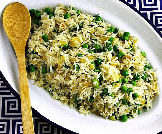 Herbed Rice and Peas