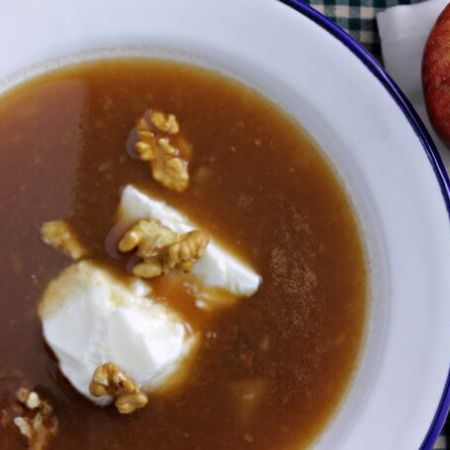 Norwegian Apple Soup {Food of the World}