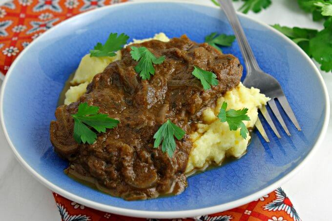 Greek Style Pot Roast ~ Tessa Kiros ~ I Heart Cooking Clubs ~ Lydia's Flexitarian Kitchen