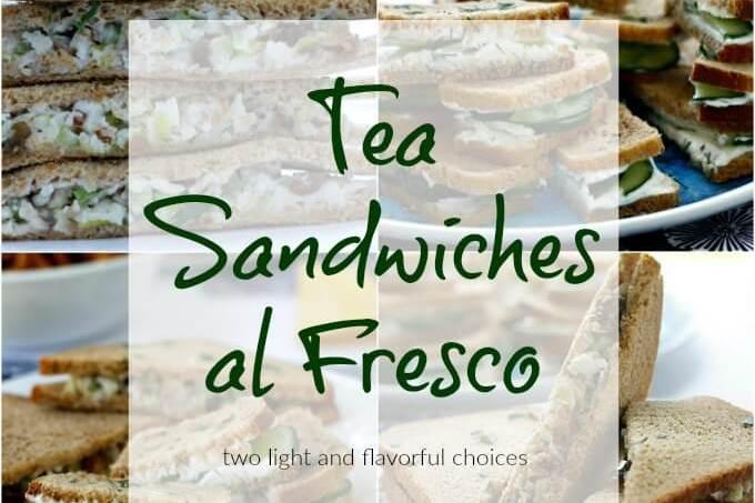 Tea Sandwiches al Fresco
